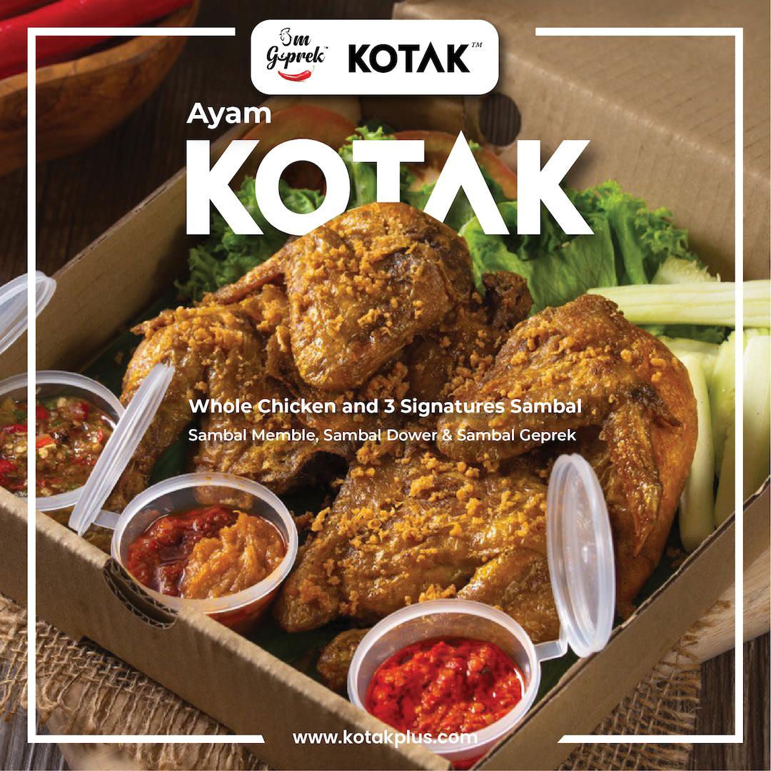 Whole chicken Ayam KOTAK